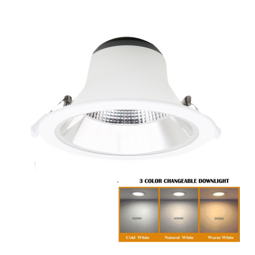 Led Downlights 3 colors