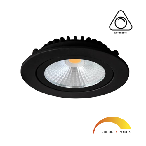 Led Spot Zwart-Wit