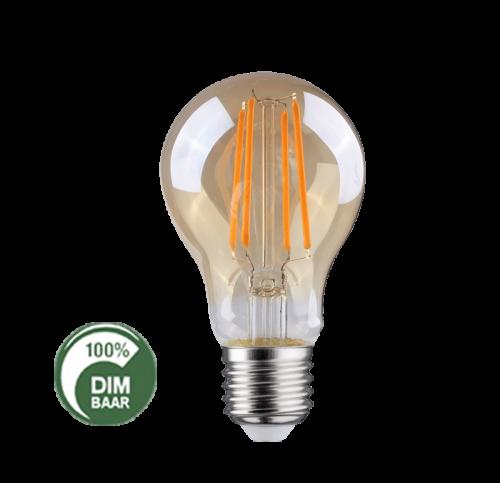 Led Lamp Filament 6.5W 2100 Kelvin DIM-AMBER - 6505-sll-bu-fila-a606a-e27