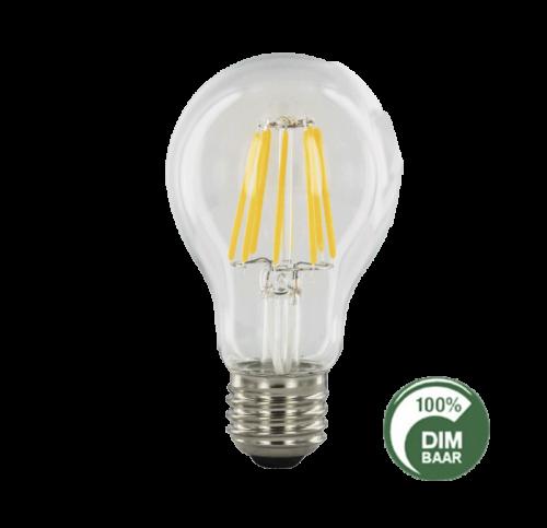 Led Lamp Filament 6.5W 2100K Pear Dimbaar-E27 - 6504-sll-bu-fila-a606p-e27