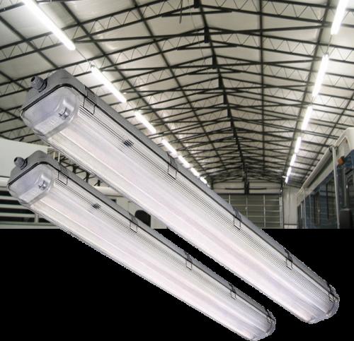LED TL ARMATUUR IP65 120LM 1.5M INCL 2 Buizen - 7771-sll-tl-arm-2 x t8-120