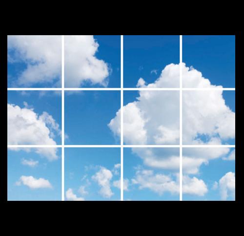 Led Wolkenplafond 12 Wolken - 5233-sll-paneel-wolk 12