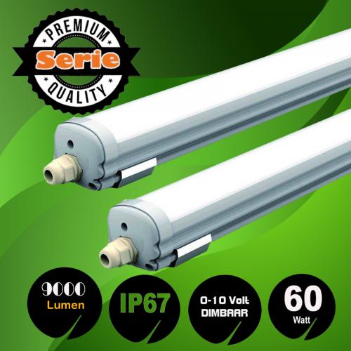 Led Triproof Batten-Water-proof-60W, 150cm Dimbaar - 8019-sll-tri-60w-bat-150-dimbaar