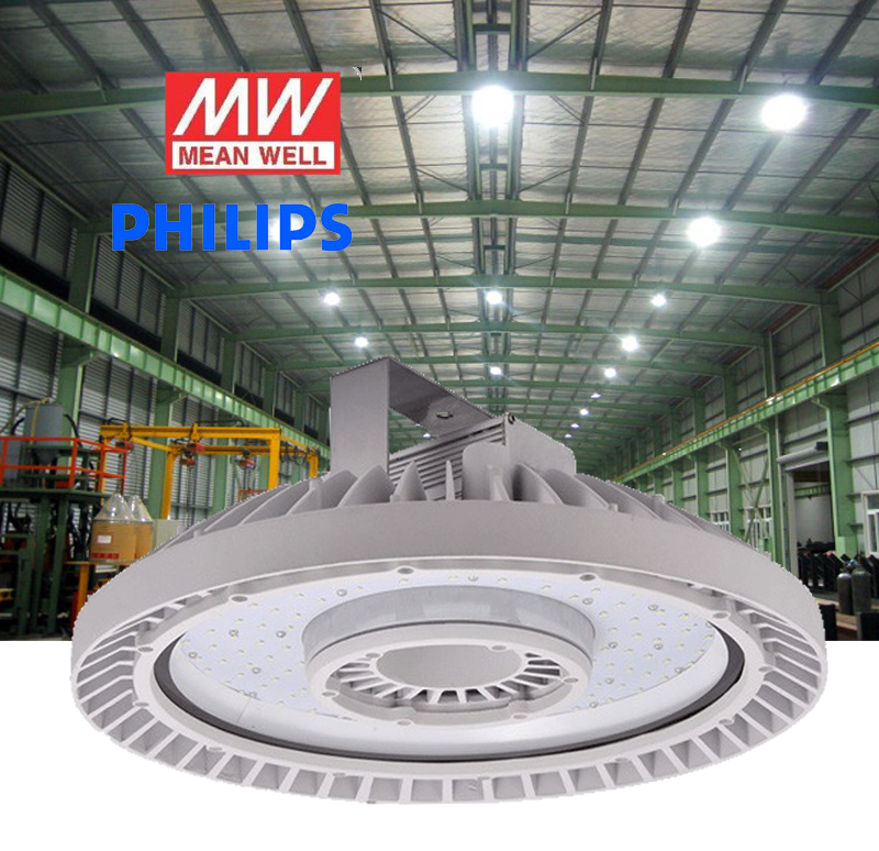 7644-le-high bay ufo light 100 watt dim