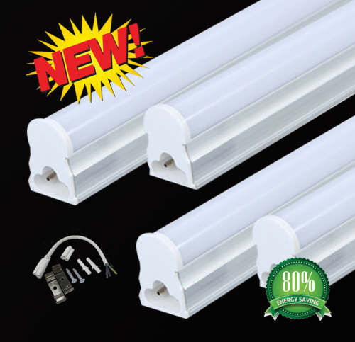 Led T5 Armatuur All In One T5 12watt 900mm Ø16 - 2222-sll-t5-900