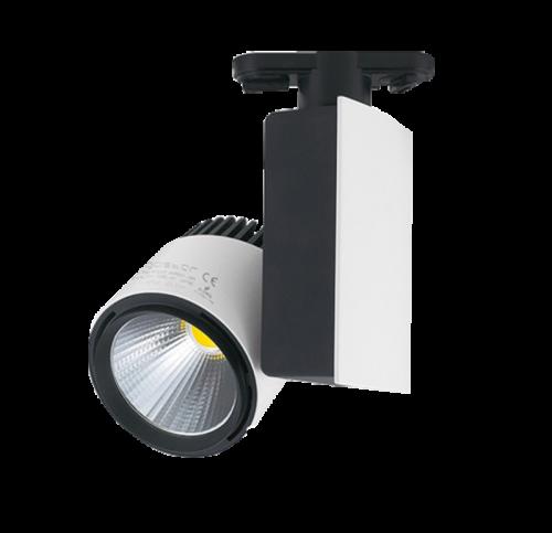 Winkelverlichting040-Tracklight 4000K 23 Watt 2 Wire - 7390-sll-track-23w-178864