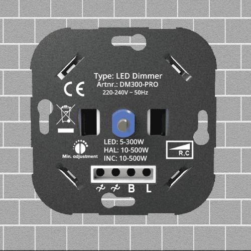 Led Dimmer 3 -300 Watt - 9203-led-dimmer-300w