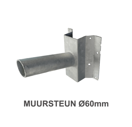 Muursteun voor Led Pand Verlichting Ø 60mm - 7224-sll- muursteun Ø60mm