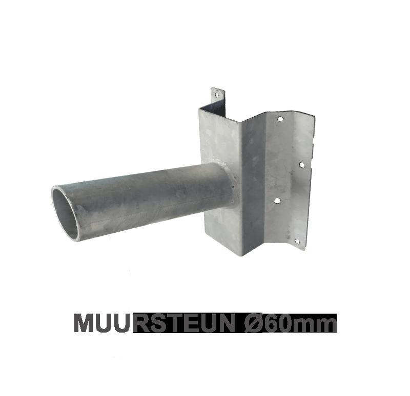 7224-sll- muursteun Ø60mm
