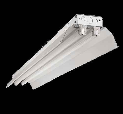 LED TL Armatuur met Reflektor Kap-voor 2 T8 buizen - 7886-sll-tl voor 2 stuks t8-1200mm los