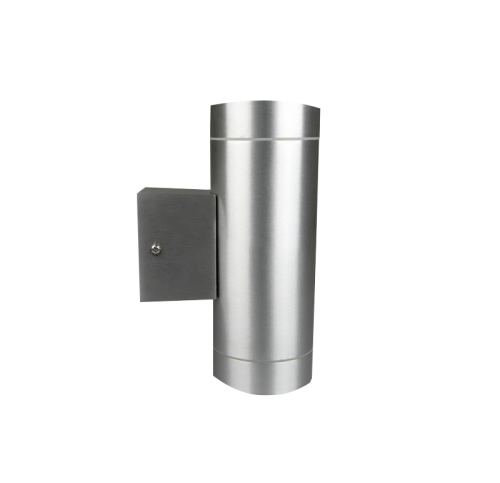 LED WANDLAMP down GU10 RVS 5.5W dimbaar - 9655-sll-wandlamp down