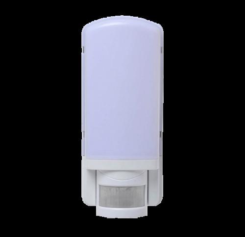 LED Wandarmatuur E27 +PIR wit - 8701-sll-led-wand sensor