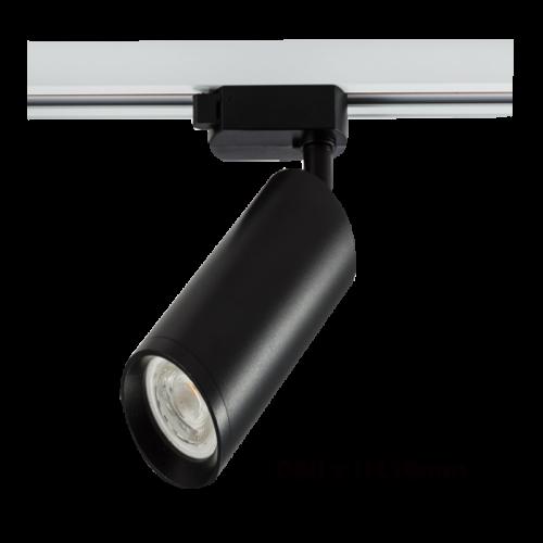 LED Tracklight 3 Fase GU10 60x110mm alleen armatuur - 7437-sll-gu10-60x110mm