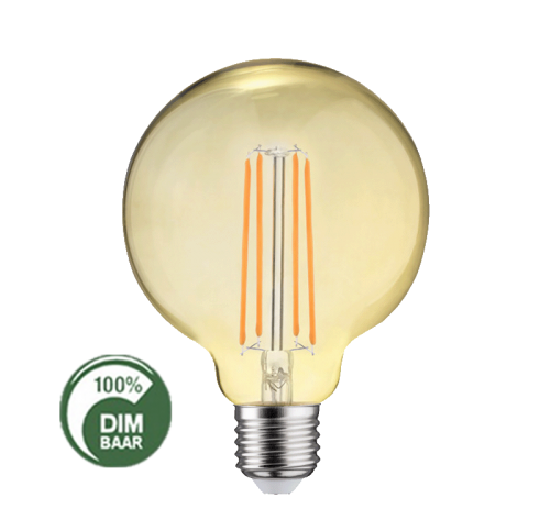 Led Lamp Filament 4W 2200 K BOL Large DIM-AMBER - 6520-sll-bu-fil-gd1256a large