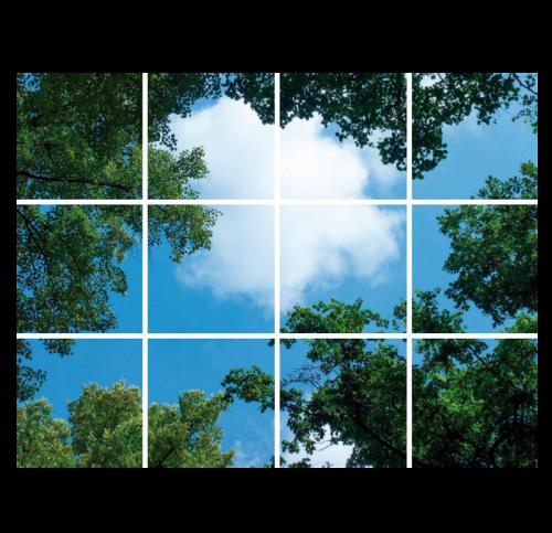 Led Wolkenplafond 12 Wolken+Bos - 5234-sll-wolken-12bos