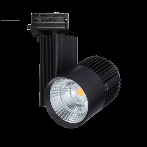Led Tracklight 40W-SLL-Zwart - 7431-sdb40-zwart
