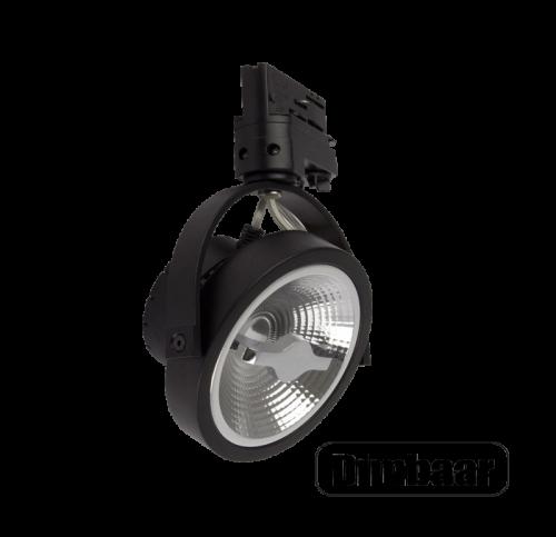 Led-Eindhoven-AR111-Dimbaar-15W-3Fase RBAR111 - 7446-sbar111-15w-zwart