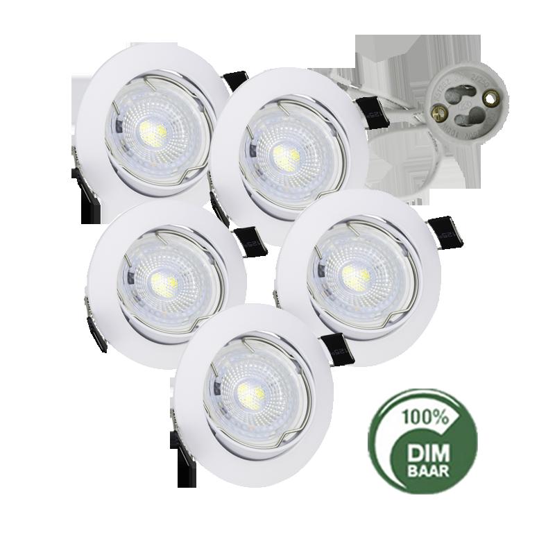 6356-led spotlight 3.5 watt gu10
