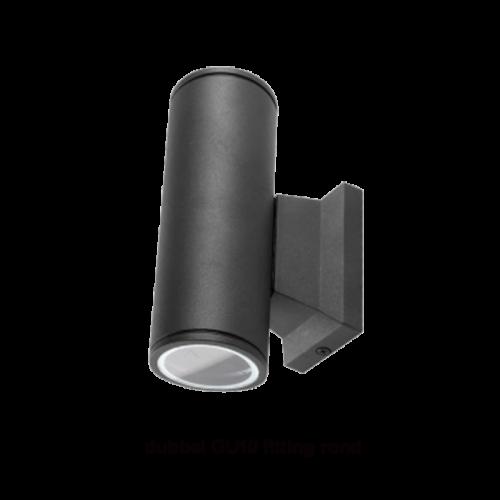 Led wall lamp-GU10 1 x swinckels zwart - 9660-wall-gu10-sq1