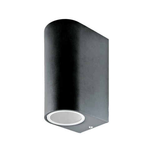 LED WANDLAMP UP-down GU10 RVS 5.5W dimbaar - 9656-swinckels-walllamp