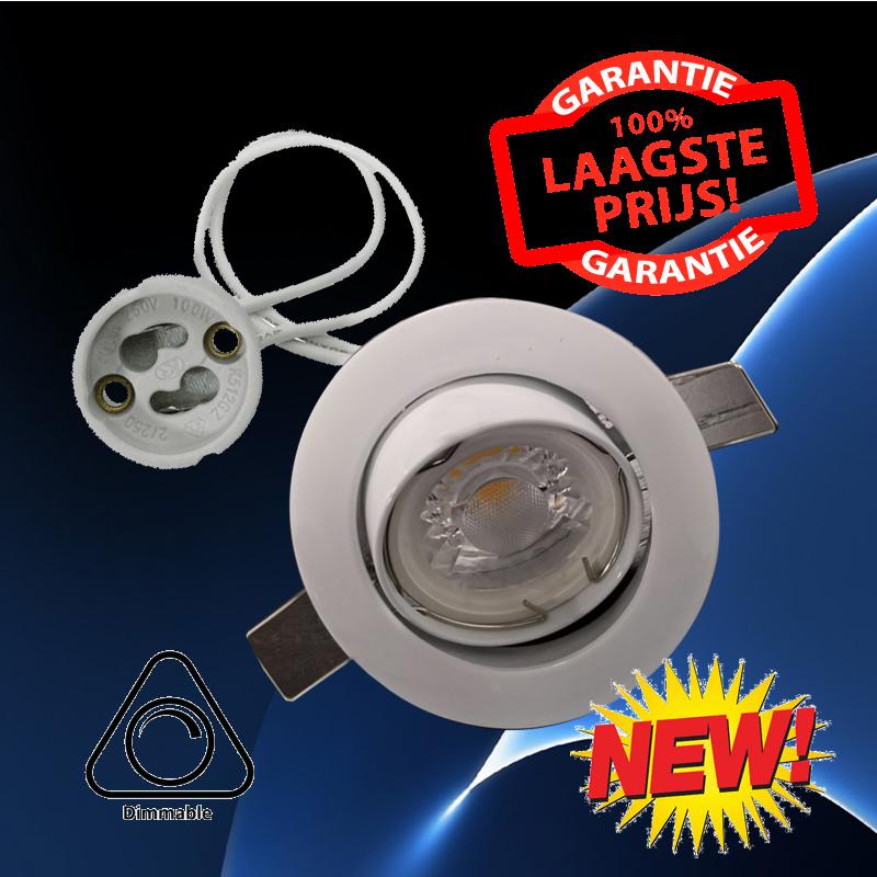 6361-led spotlight 5 watt dimbaar