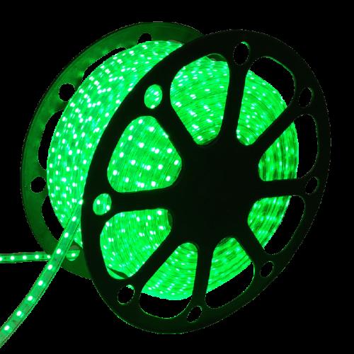 LED Strip  5050 IP65 Waterproof 220VOLT 50 meter GROEN - 8133-sll-strip-5050-220volt 50m groen