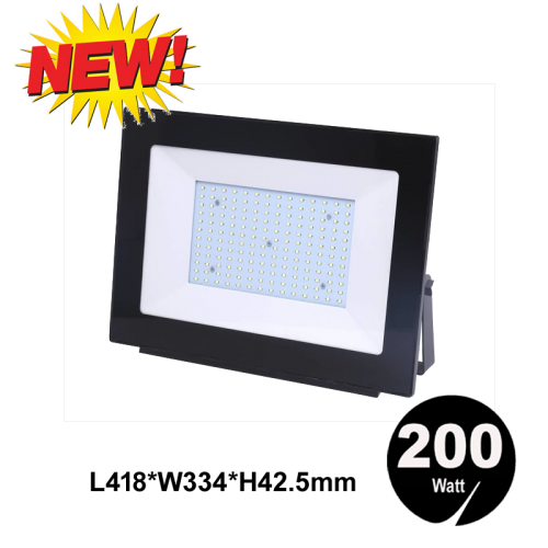 LED FLOODLIGHT SLIM IP65 200W - 7060-sll-bouw 200w-ip66