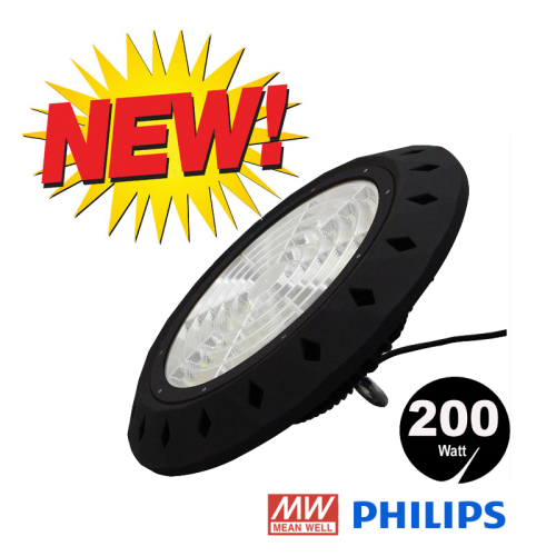 LED HIGH BAY 200 Watt Meanwell Driver - 7672-sll-200w-100603knm