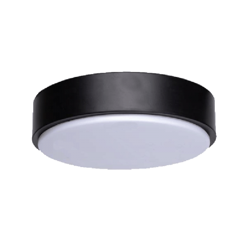 LED CEILING LIGHT02 12W 3000K BLACK - 5173-opbouw-12w-zwart