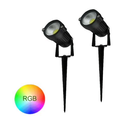 TUINSPOT MET GRONDPEN 6W RGB - 9430-sll-tuin-spies rgb