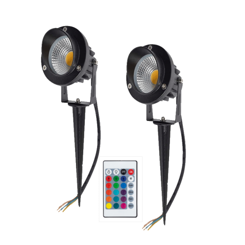 TUINSPOT MET GRONDPEN 9W RGB - 9432-sll-tuinspies 9w-rgb
