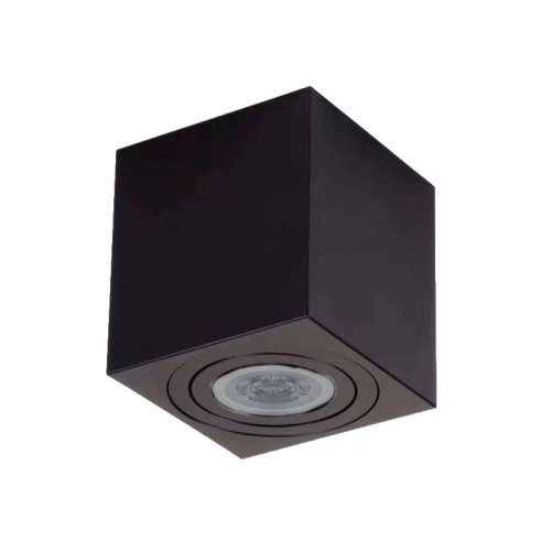 LED Plafond metGU10-VIERKANT - 7108-sll-op-vierkant 83x83mm