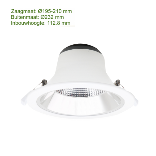 LED DOWNLIGHT REFLECTOR 20W 195MM - 3028-sll-led down-20w-195mm