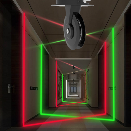 Swi-CORE - serie 360 ° LED-raamlamp - opbouwmodel 360 graden stralingshoek, enkelvoudig of RGB / RGBW-kleur - 9670-sll-raam verlichting