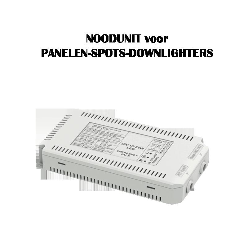 9405-sll-noodunit panel-downlights