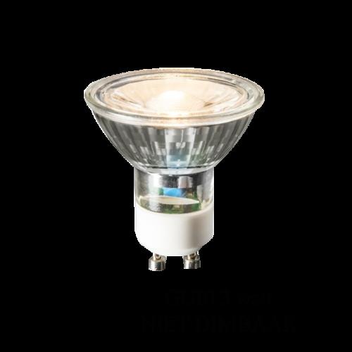 LED SPOTLIGHT INBOUW 3 WATT GU10 NIET DIMBAAR - 6343-sll-gu10 niet dimbaar