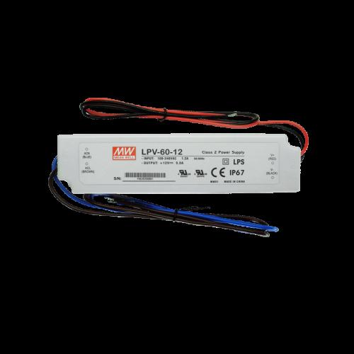 LED Meanwell Driver LPV-60-12 - 8525-lpv-60-12