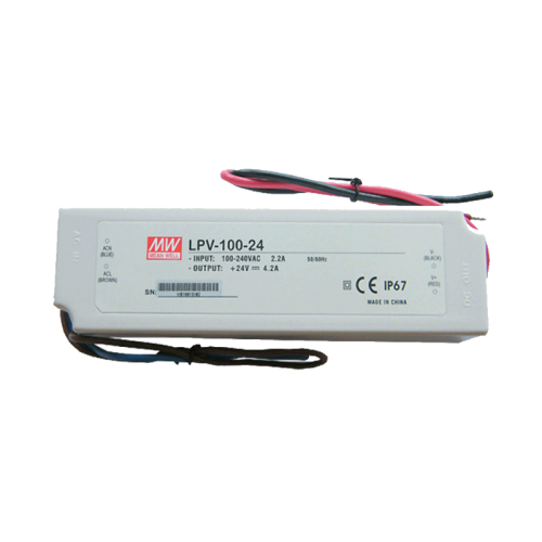 LED Meanwell Driver LPV-100-24 - 8528-lpv-100-24