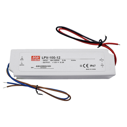 LED MEANWELL DRIVER LPV-100-12 - 8527-lpv-100-12