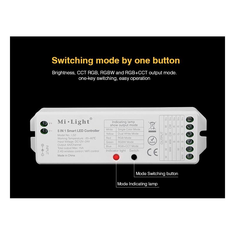 9364-mi-light 4 zone controller