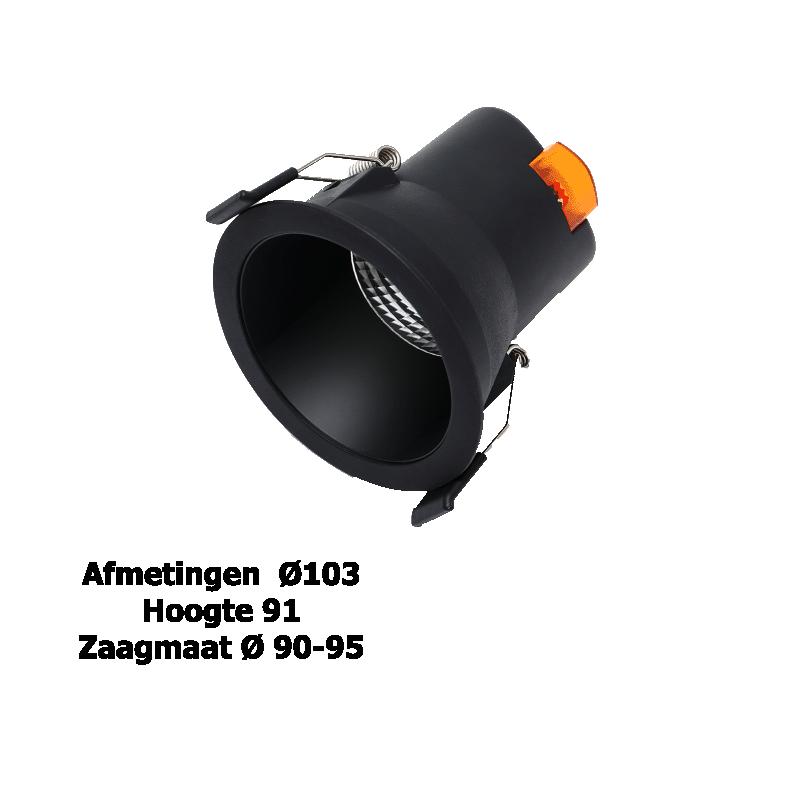 3102-led downlight 9 watt swinckels