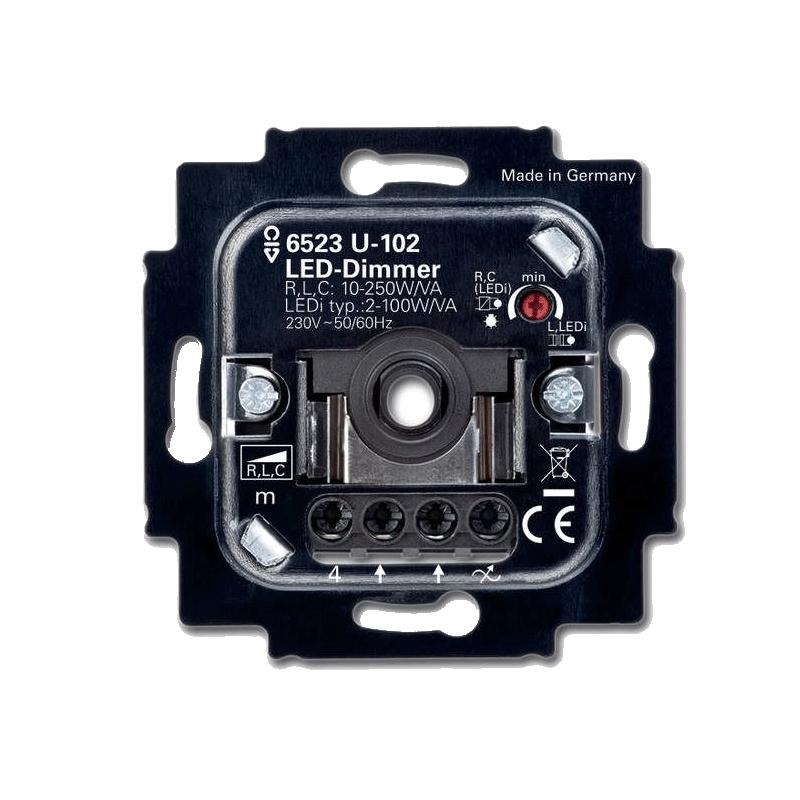 9197-gira 2-110w led dimmer