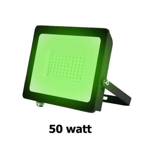 LED BREEDSTRALER IP66 100W 120° GROEN - 7082-breedstraler-groen