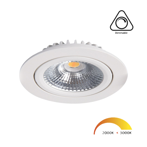 Led inbouwspot compleet 5W Dim to Warm Wit - 6397-swinckels-down-dim to warm