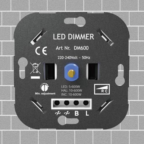 Led Dimmer 5-600 Watt - 9212-lab040-led dimmer 5-600watt