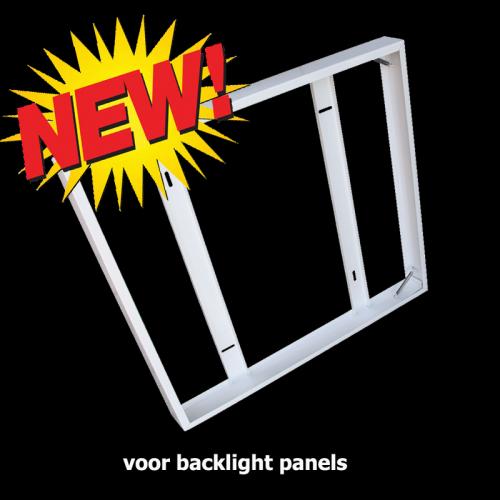 Led Panel Opbouw Frame 600 x 600 voor backlight - 5073-sll-back-6060