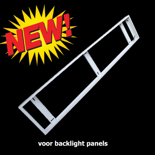 Led Panel Opbouw Frame 300 x 1200 voor backlight - 5074-sll- back-30120