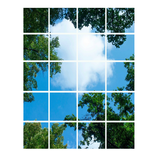 Led Wolkenplafond 20-Wolk-Bos - 5238-sll-wolk-20bos