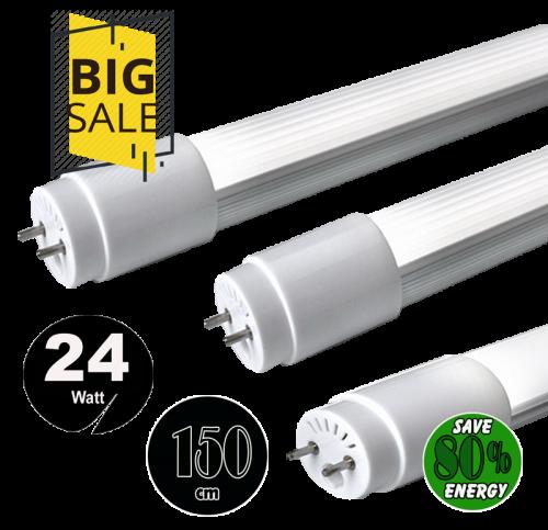 Led Buis 24W T8150- Ø26 1500mm - 2016-sll-24w-150-t8-5000k