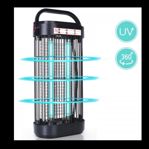 UVC Desinfectie Lamp 360º -18W - Zwart - 9711-uvc-lamp 18 watt